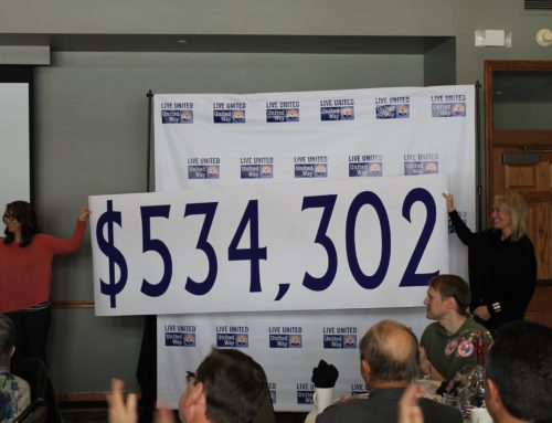 United Way Campaign Exceeds $500,000 Goal