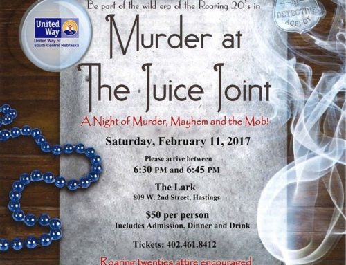 Murder at the Juice Joint – A Murder Mystery Fundraiser Feb. 11 6:30 pm – ?