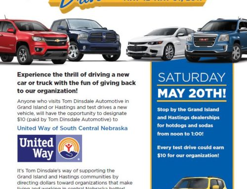 Tom Dinsdale Community Driven Test Drive Event