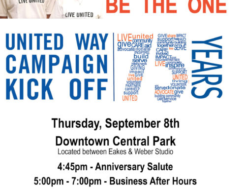 Campaign Kick-Off Event September 8th!